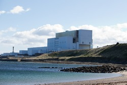 A view of Torness nuclear power station from Skateraw harbour near Dunbar, East Lothian, Scotland on 29 September, 2016.