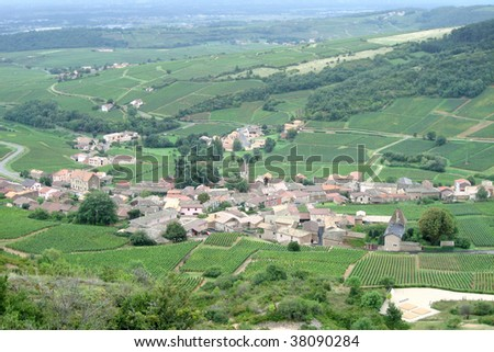 A village in the northern France countryside