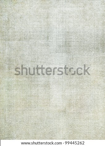 A vintage cloth book cover with a screen pattern and grunge background textures.  Image has very subtle green and brown tones.