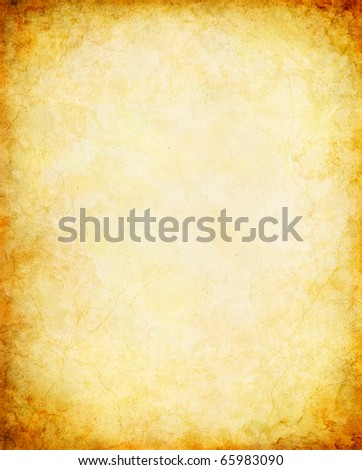 A vintage paper background with a glowing center and grunge vignette.
