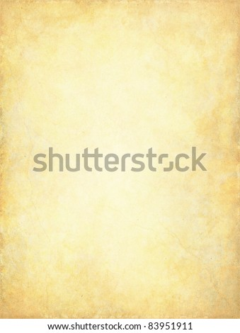 A vintage paper background with a glowing center and subtle grunge patterns and textures.