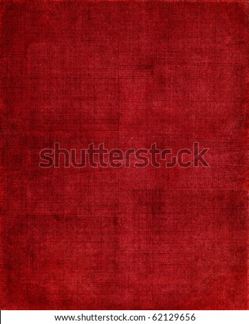 A vintage red background with a crisscross mesh pattern and grunge stains.