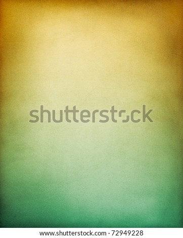 A vintage textured paper background with a brownish yellow to green gradient