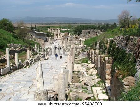 A Walk in Ephesus