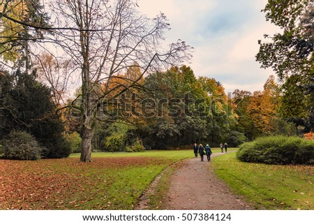A walk in the park #507384124