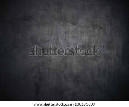 A washed school or university blackboard