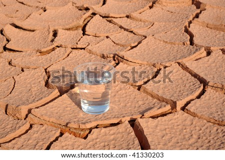 A water on arid land