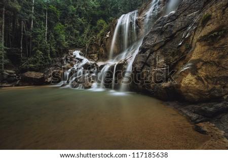 Waterfall Malaysia Pahang Kuantan Pahang Malaysia