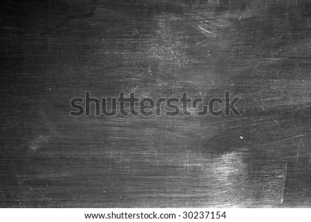 A well worn vintage school blackboard to use as a background with fonts that simulate writing in chalk.