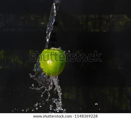 a wet lime