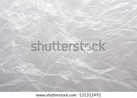 A White Plastic  Bag Texture, macro, background