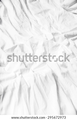 A white sheet background.