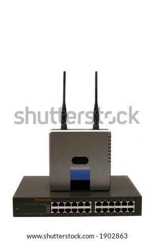 how to use ethernet switch with router