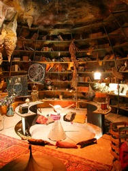 A wizards lair