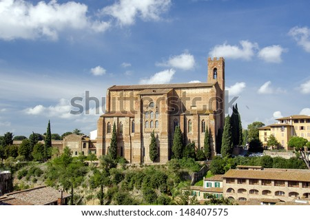 A wonderful medieval city of Italy, Siena