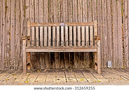 A wood bench is a classic outdoor furniture. No matter where you want to arrange your furniture, they are always beautiful and attractive.