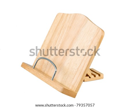 Wooden Cookbook Stand Plans