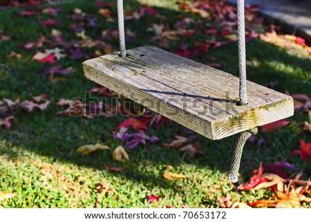 A Wooden Swing