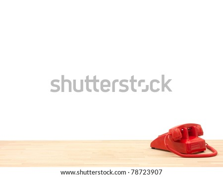 A workplace scene isolated against a white background