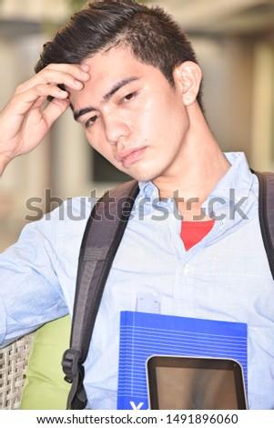 A Worried University Minority Student