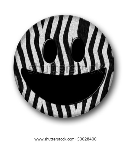 http://image.shutterstock.com/display_pic_with_logo/128761/128761,1270072506,74/stock-photo-a-zebra-pattern-smiley-50028400.jpg