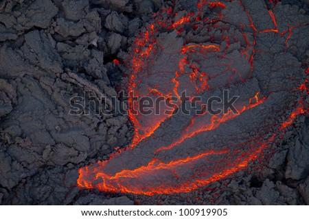 aa lava Hawaii Big Island