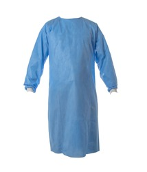 AAMI LEVEL 2 SMS Fabric Isolation Gown surgical gown  on white background
