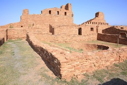 Abó ruin in Salinas Pueblo Missions National Monument, New Mexico, USA