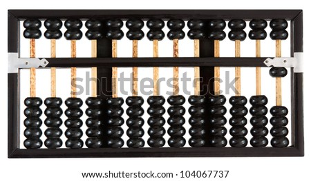 Abacus showing one