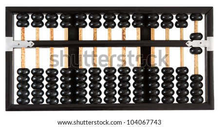 Abacus showing six