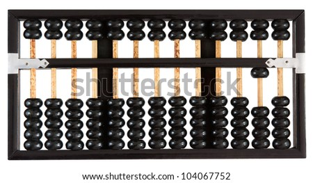 Abacus showing ten