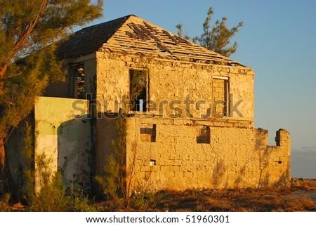 Abandon house in Eleuthera