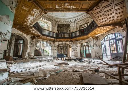 Abandonde old building