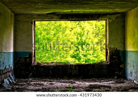 Abandoned Building #431973430