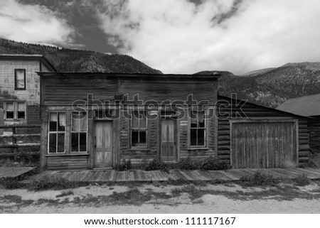 Abandoned Western Towns http://www.shutterstock.com/pic-111117167/stock-photo-abandoned-building-with-wooden-sidewalk-in-western-us-ghost-town.html