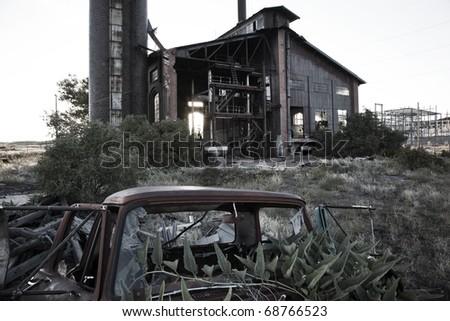 Abandoned Electrical Plant, Colorado