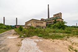 Abandoned factory in Loznica, Serbia. It was founded in 1957 and was destroyed in the economic crisis of the 1990s and is awaiting privatization.