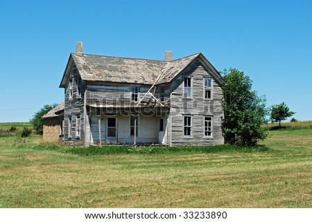 Abandoned Farm houses for Sale http://www.shutterstock.com/pic-33233890/stock-photo-abandoned-farm-house.html