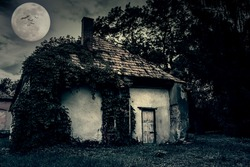 Abandoned ghost house
