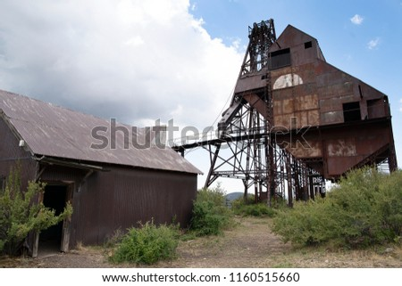 Abandoned gold mine in Colorado.