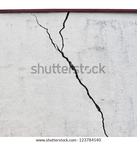 abandoned grunge cracked  stucco wall background