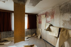 Abandoned hotelroom in Germany