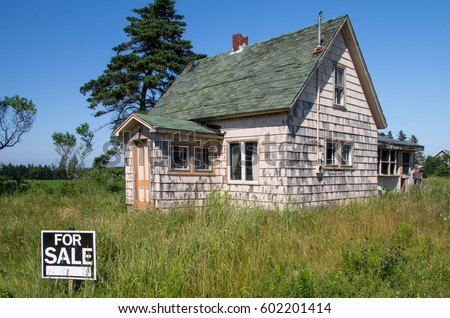 Abandoned House For Sale