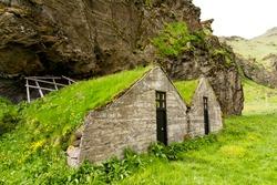 Abandoned Icelandic houses