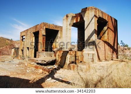 Abandoned industrial buildings mine