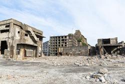 Abandoned island in nagasaki