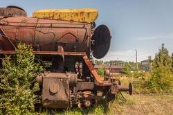 Abandoned Krakow Płaszów Train graveyard