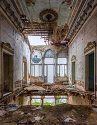 Abandoned Mansion in Beirut Lebanon