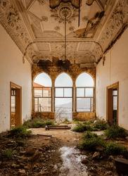 Abandoned Mansion in Beirut Lebanon