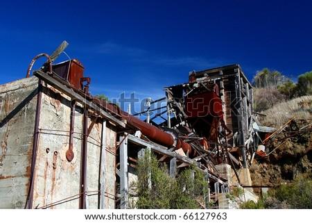 Abandoned Mercury Rotary Furnace